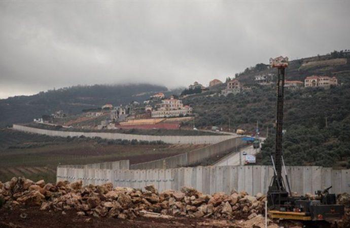 Israel destruyó un dispositivo de espionaje en la frontera con El Líbano