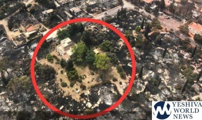 ¡Todo el Carlebach Moshav está destruido, excepto el Shul!
