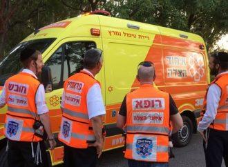 Paramédico de United Hatzalah salva en vivo a una niña de 4 años