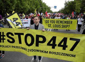 Marcha en Polonia contra la restitución de bienes