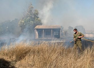 Incendios arrasan el sur de Israel