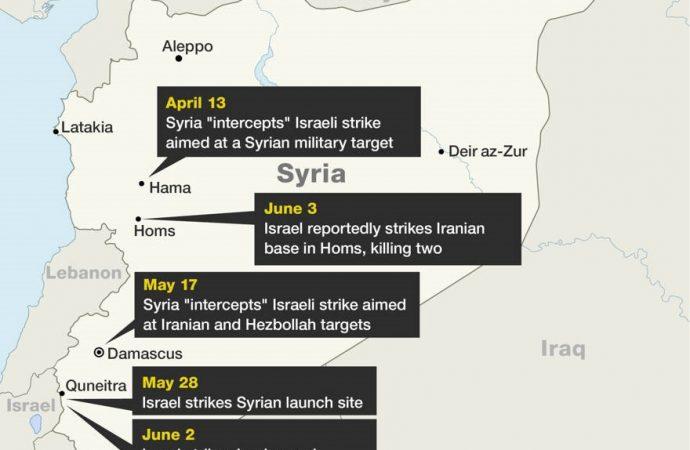 Israel está persiguiendo a las milicias iraníes en el desierto de Siria