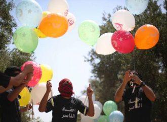 Los globos de colores de Gaza