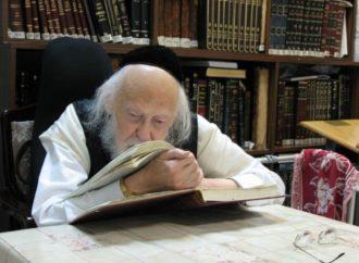 Segulá para aquellos que están enfermos: Maran Rav Elyashiv ZT'L: Erev Shavuot, un tiempo para sanar