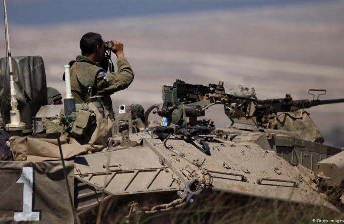 Represalia de Israel por misiles procedentes de Siria