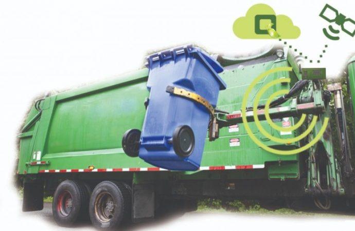 Una empresa de Israel presenta camiones de basura inteligentes