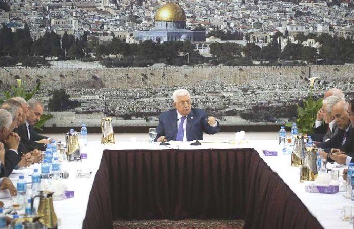 Abbas declara el final de los acuerdos con Israel