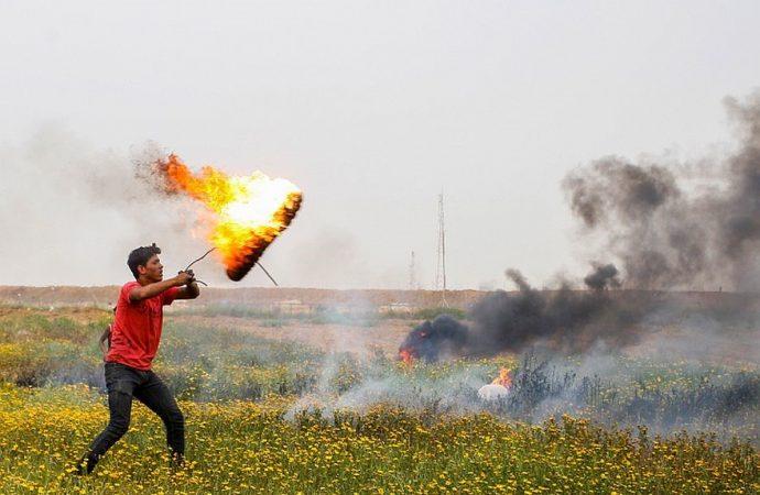 4.500 árabes participaron en la violencia semanal en la frontera de Gaza