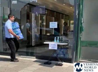 Optica Hareidí en Inglaterra establece una estación de agua por la ola de calor