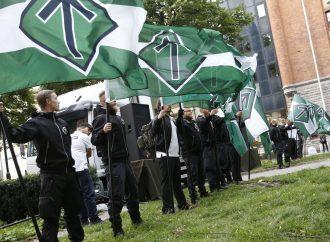 <strong>Antisemitismo.</strong> Neonazis suecos interrumpen exposición del Holocausto