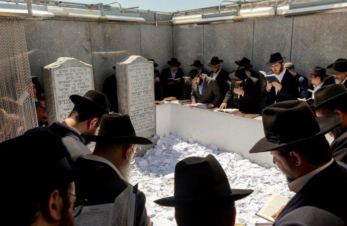 50,000 personas acuden a la tumba de Lubavitcher Rebe