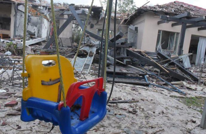 Muere una anciana herida durante el ataque con cohetes en Gaza