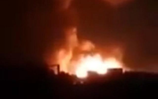 Inminente ataque con drones iraníes evitado por ataque aéreo masivo en Siria