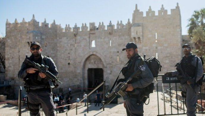 La policía fronteriza arresta a los incendiarios del este de Jerusalem