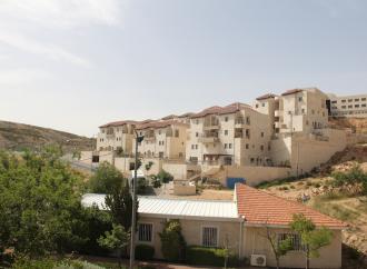 La expansión de los asentamientos establece la anexión de Cisjordania