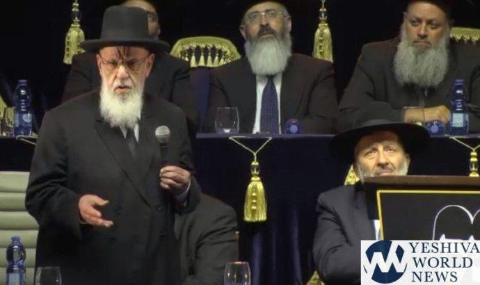 """""""Quieren convertir a Eretz Israel en un país no observante de los preceptos"""""""