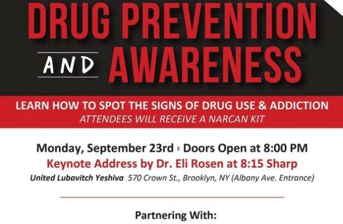 Evento de conciencia y prevención de drogas