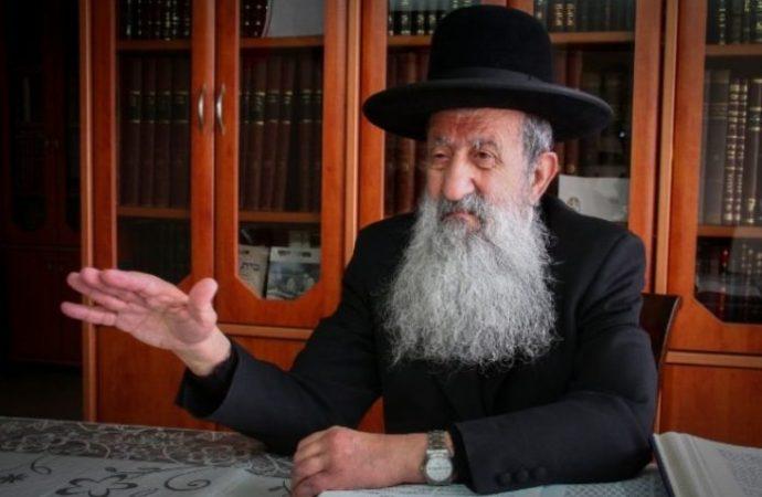 HaGaón Rav Mutzafi opina sobre las elecciones