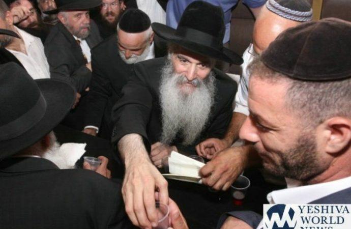 Un hombre con un cuchillo intenta apuñalar a Mekubal HaRav David Abujatzeira en Nahariya