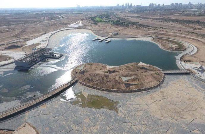 Se inauguró el segundo lago más grande de Israel en… Beersheba