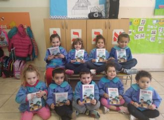 <strong>Iniciativa solidaria.</strong> AMIA lanzó la campaña de donación de útiles escolares