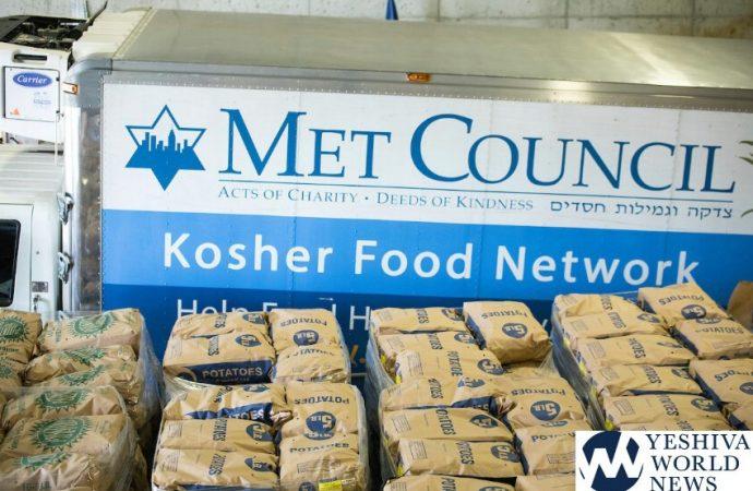 Los líderes de Nueva York ayudan al Met Council a distribuir alimentos de Rosh Hashaná a 100,000 personas