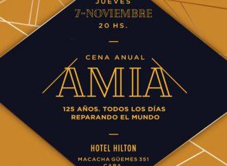 AMIA realiza su tradicional Cena Anual