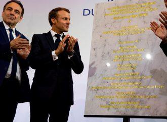 Macron y los judíos franceses abren un centro comunitario de $ 17 millones en París