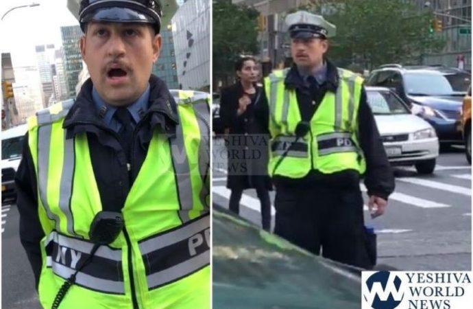 """Policía de tráfico de Nueva York dijo: """"Judío estúpido, no puedes girar a la derecha"""""""