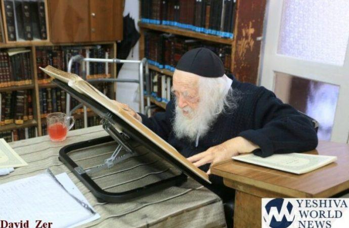 """Hagaón HaRav Chaim Kanievsky: """"Por eso hemos sido expulsados de nuestros Shuls"""""""