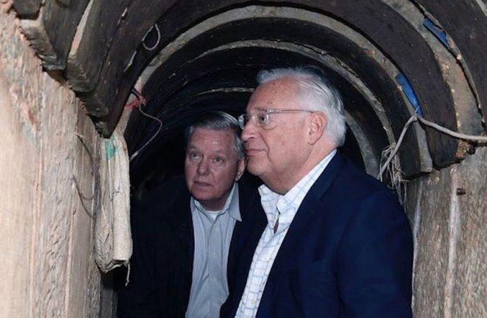 La Fuerza Aérea de Israel destruye el túnel de ataque y los objetivos terroristas en Gaza