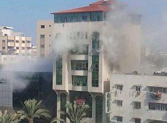 Jihad dispara cohetes contra el edificio de derechos humanos de Gaza. ¿A quién le echa la culpa Amnistía?