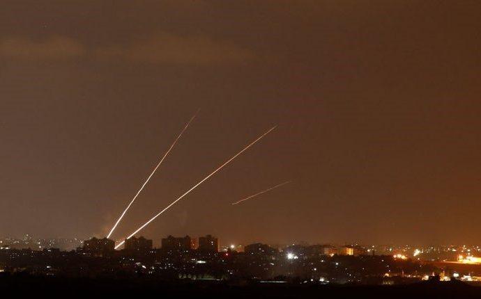 Nuevamente cohetes de Gaza caen en el centro y sur de Israel