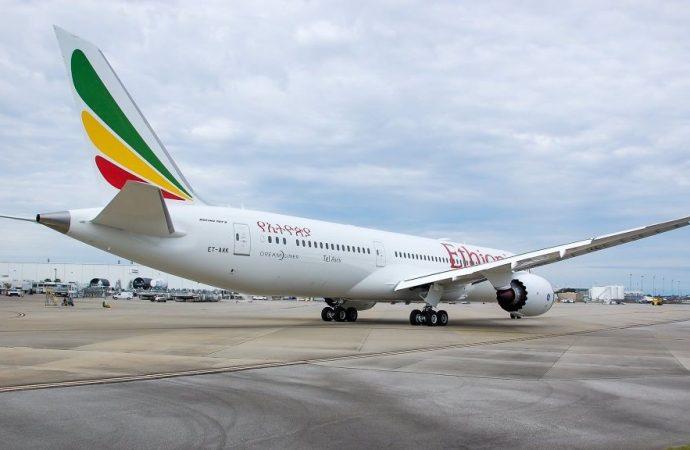"Ethiopian Airlines nombra nuevo Dreamliner ""Tel Aviv"""