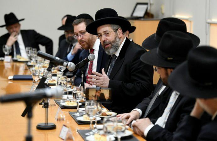 """Rab David Baruch Lau: """"La educación judía es el mejor antídoto contra la asimilación"""""""