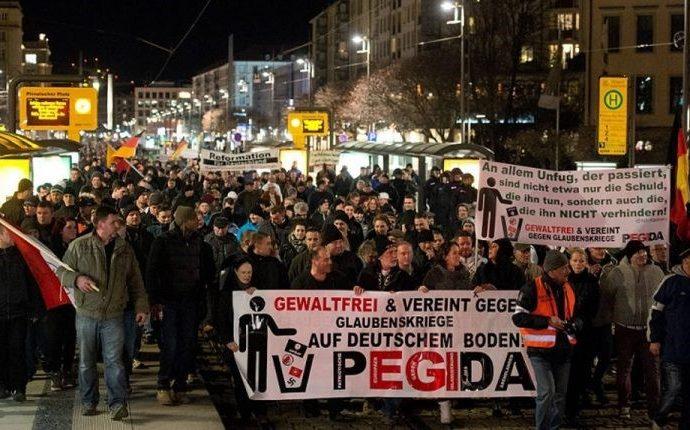 """La ciudad de Dresde se declara oficialmente en """"emergencia nazi"""""""