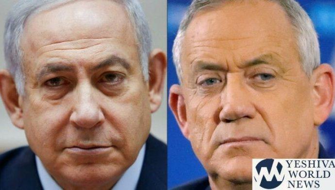 Netanyahu con una ligera ventaja sobre Gantz
