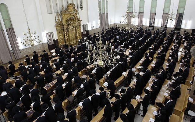 Aumento significativo en el número de avreijim en Kollelim en Israel