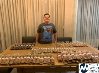 Joven de Modi'in prepara 6000 pasteles para su Bar Mitzvah