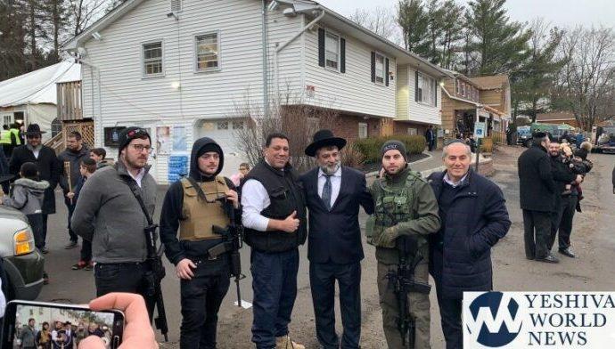 Judíos ortodoxos armados hasta los dientes en Monsey