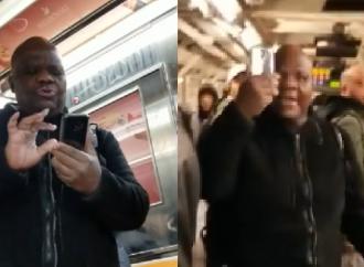 Estudiante judío acosado en el metro de Nueva York