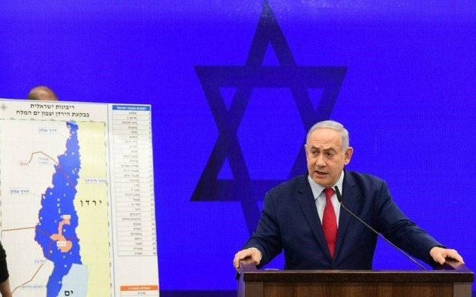 Netanyahu: Israel tiene derecho a aplicar su soberanía en el Valle del Jordán