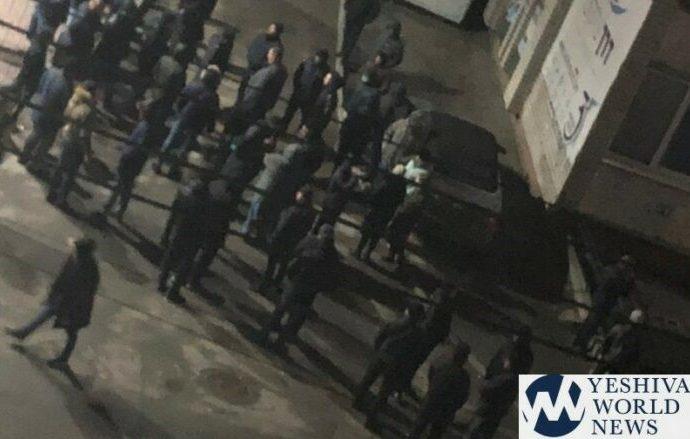 Matones ucranianos atacan a judíos en Uman