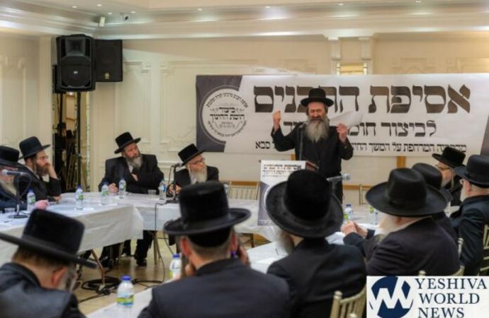 Rabanim en Londres se reúnen ante ley que amenaza a la educación judía