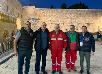 <strong>Enriquecedora experiencia.</strong> Representantes del SAME en Israel