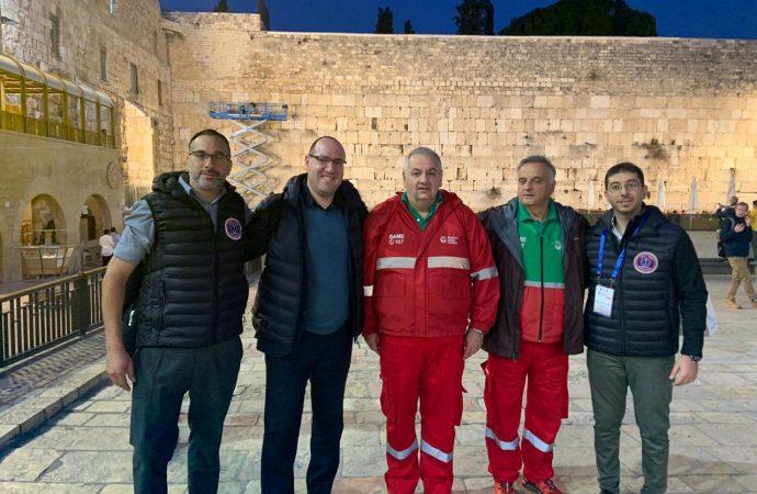 Representantes del SAME en Israel