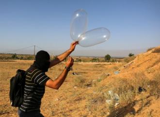 FDI en alerta: disturbios en la frontera de Gaza y globos de terror