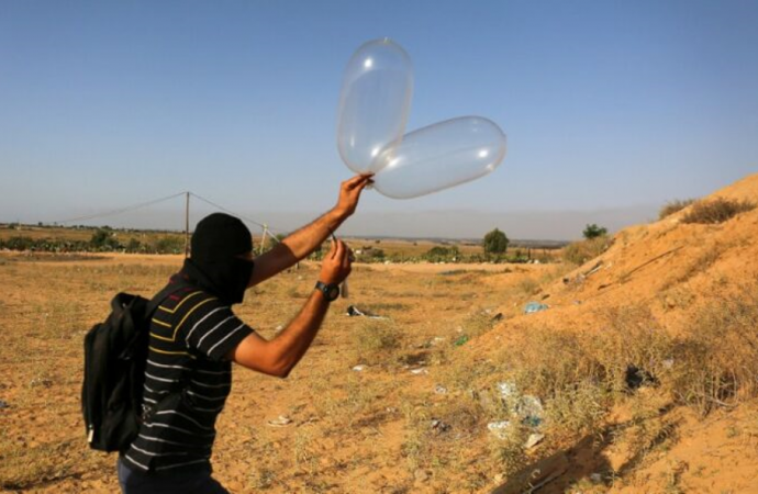 Las FDI atacan el objetivo de Hamas después de que se lanzaran múltiples globos durante 5 días