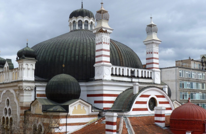 Cementerio judío en Bulgaria destrozado