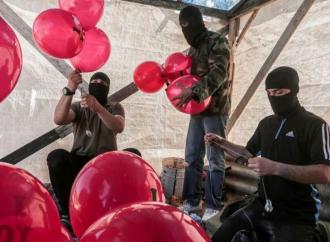 Hamas pondrá fin a los ataques con globos incendiarios contra Israel